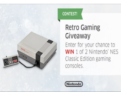 The Source Nintendo NES Retro Gaming Giveaway