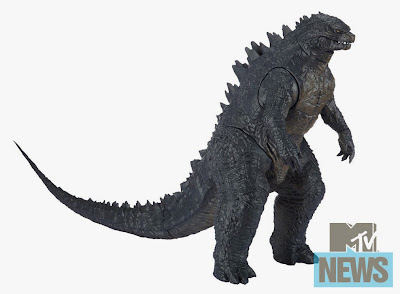 Design First Look for Jakks Pacific Godzilla Action Figure