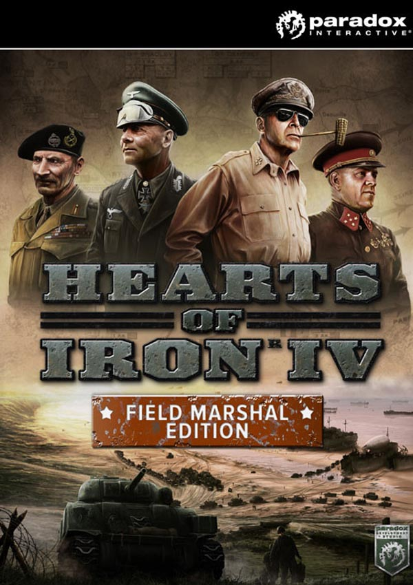 Hearts of Iron IV Field Marshal Edition Download Cover Free Game