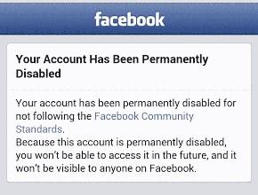 cara mengaktifkan facebook yang dinonaktifkan permanen