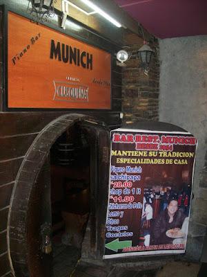 Munich Bar, Historical Center Lima, Peru Travels Blog, Going Out Lima