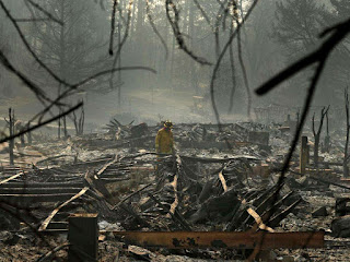 California Wild Fire Tamed At last