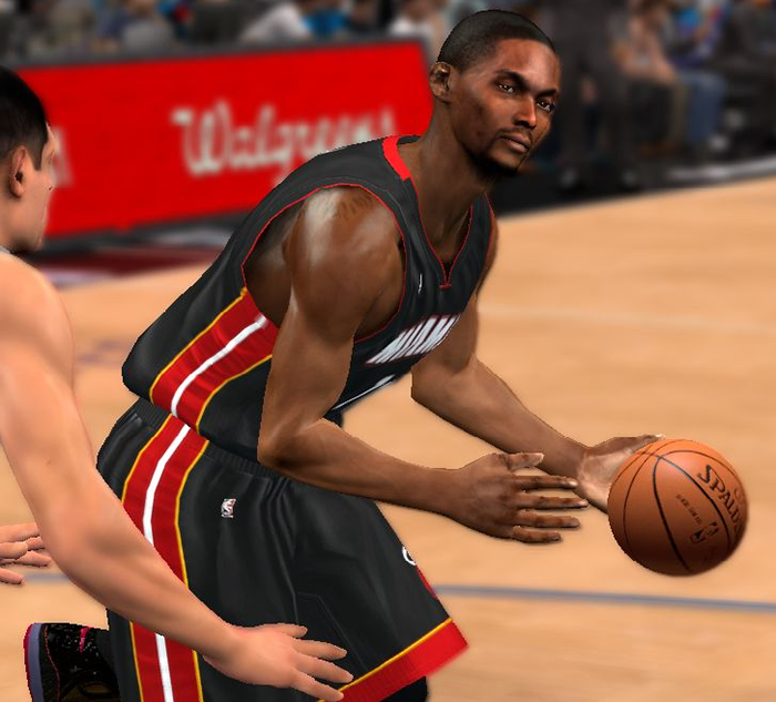 NBA2K14 Chris Bosh Cyberface Patch