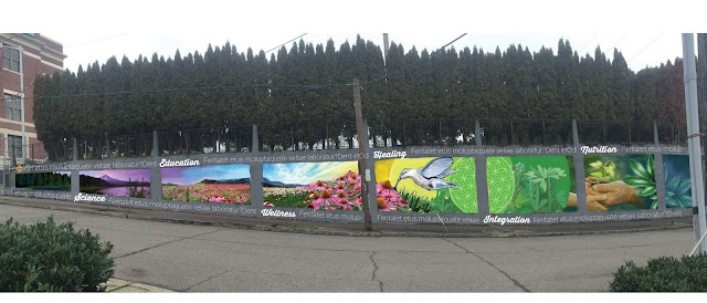 Portland muralist, portland mural, portland street art, portland mural artist, mural design, portland artist
