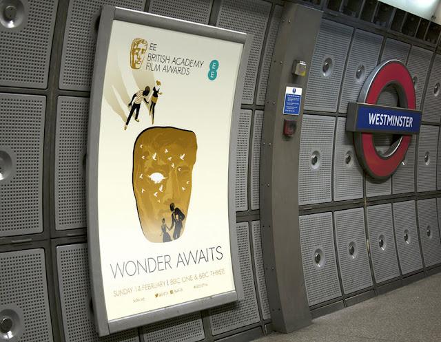 cartaz de divulgação BAFTA