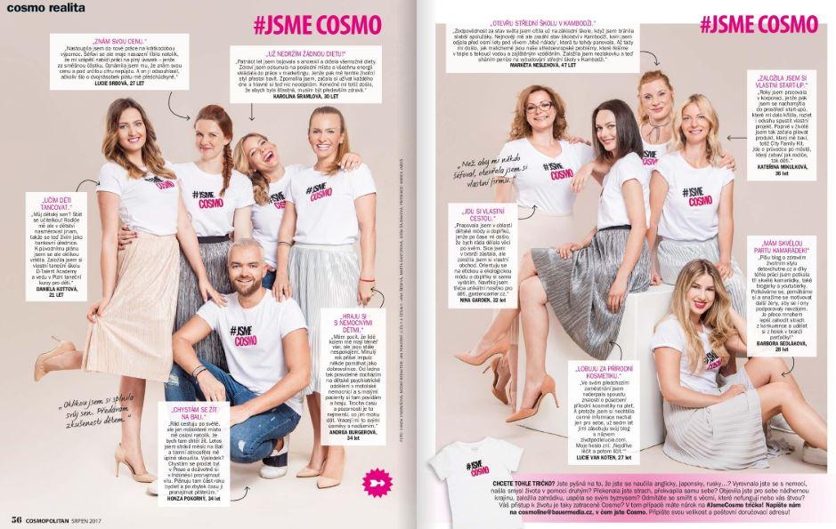nejlepší české blogerky, předplatné časopisu Cosmopolitan