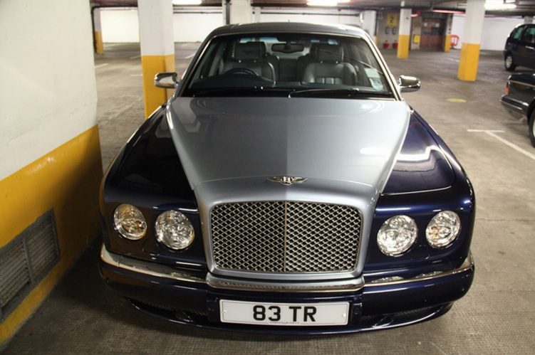 Luxury car Bentley