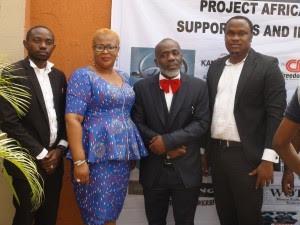 In Lagos, Celebrities Unite Against Human Trafficking