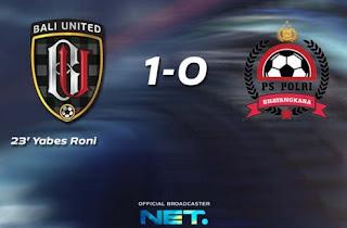 Bali United vs PS Polri 1-0