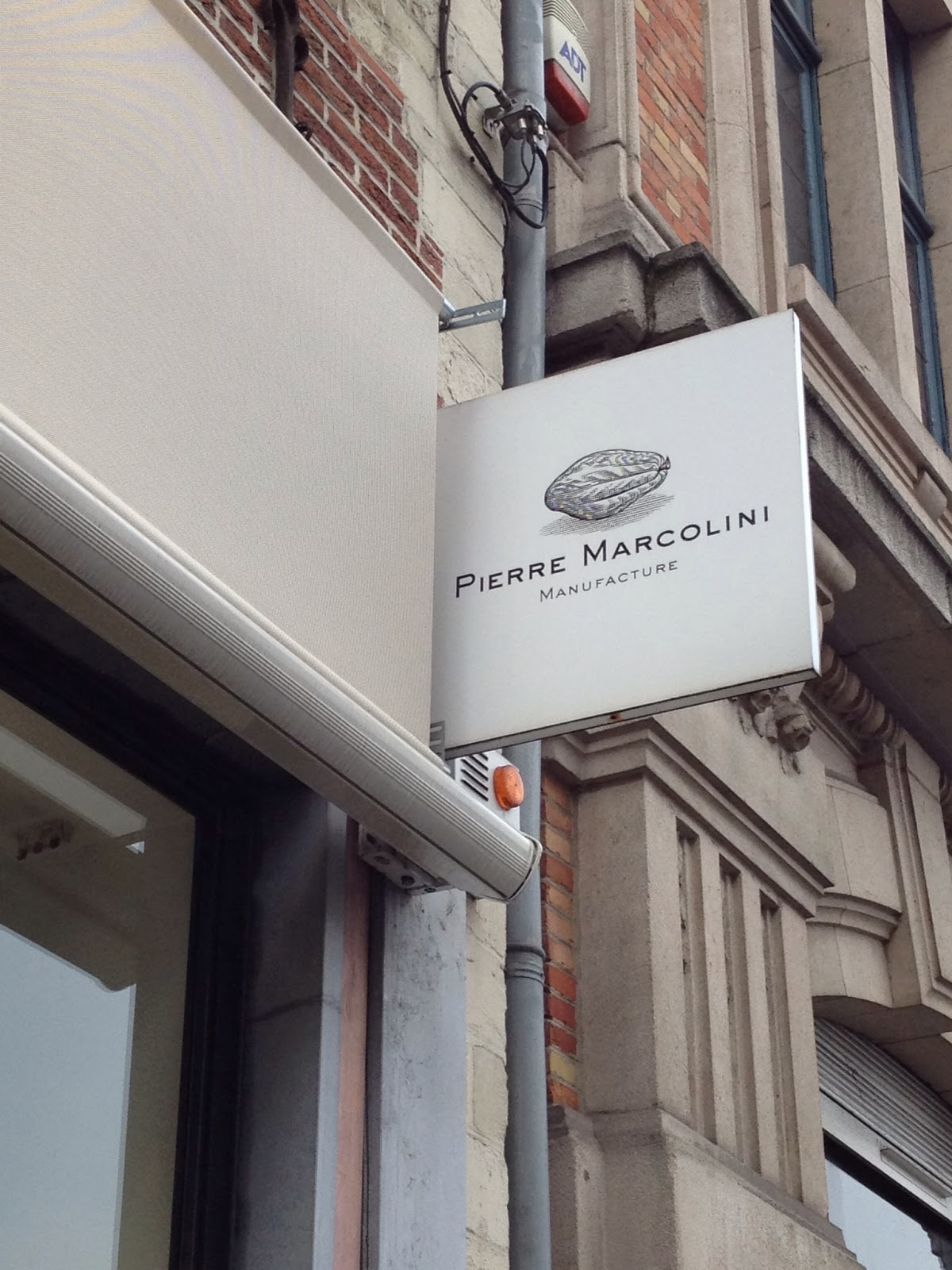 Brussels - Our chocolate tour took us to famed Pierre Marcolini