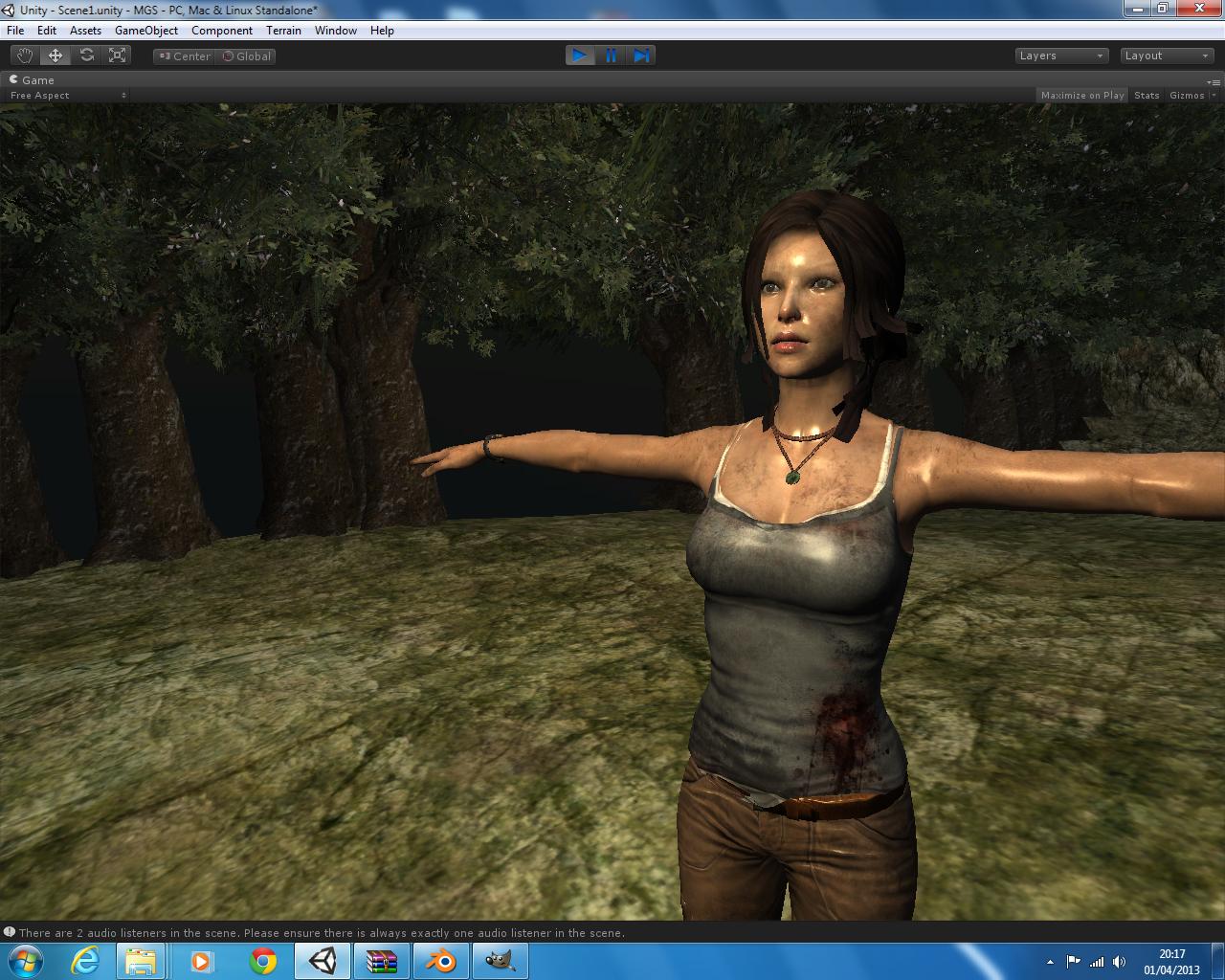 Hungry developer -  NET, C#, ASP NET MVC: Lara Croft Tomb Raider
