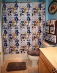 be sure to add some additional features like the images of stars spaceships jupiter pluto mars or comets on the painting jobs the star wars theme - Star Wars Bathroom
