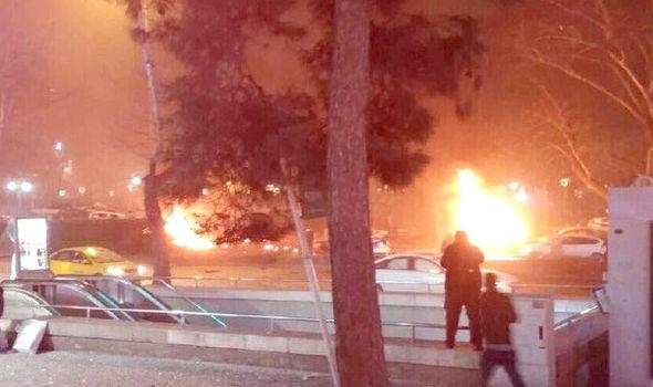 Explosão no centro de Ancara