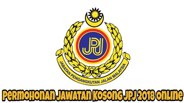Permohonan Jawatan Kosong JPJ 2021 Online