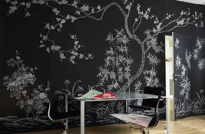 Decorar Paredes Con Papel Pintado Aprender Hacer Bricolaje Casero - Pintar-y-decorar-paredes