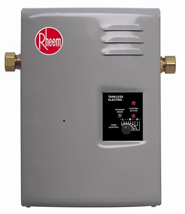 Rheem-tankless electric water heater
