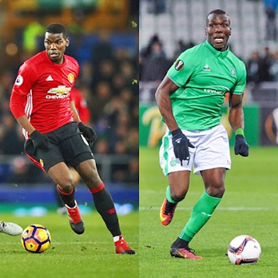 It's Pogba vs Pogba! Man. United's Star to Face His Brother Against St. Etienne in Europa League Draw