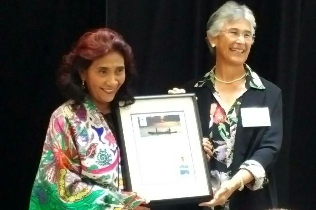Menteri Susi Dianugerahi Leaders For A Living Planet Awards di Amerika Serikat