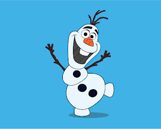 HOW TO DRAW A Olaf_TheSnowman