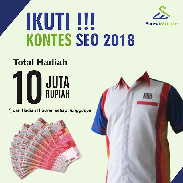 Kontes SEO BLOG Konveksi Seragam Kerja Surewi 2018