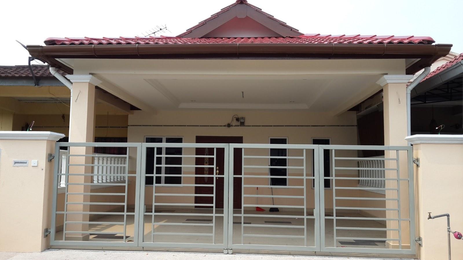 Hartanah4u Meru Klang & Contoh Ubahsuai Rumah Teres Setingkat | Desainrumahid.com