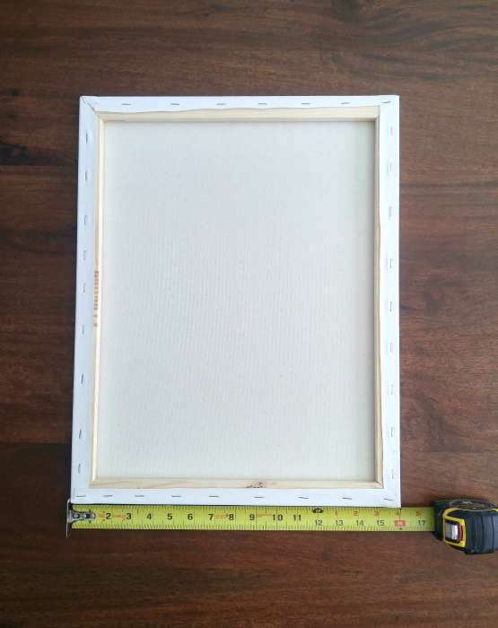How to Make a Simple Frame For a Canvas | Pneumatic Addict