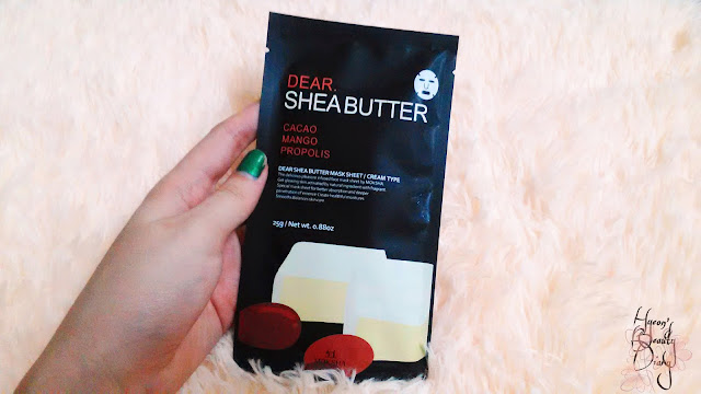 Moksha; Dear Shea Butter Mask Sheet; Review