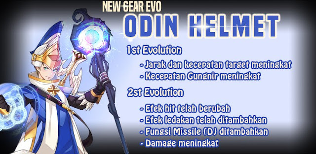 Odin Helmet Evolution Lost Saga Indonesia