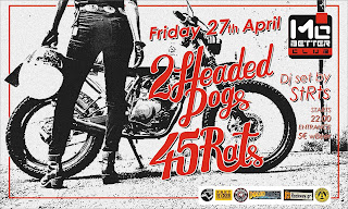 45Rats & 2 Headed Dogs Live [27.Apr.'18] Mo Better