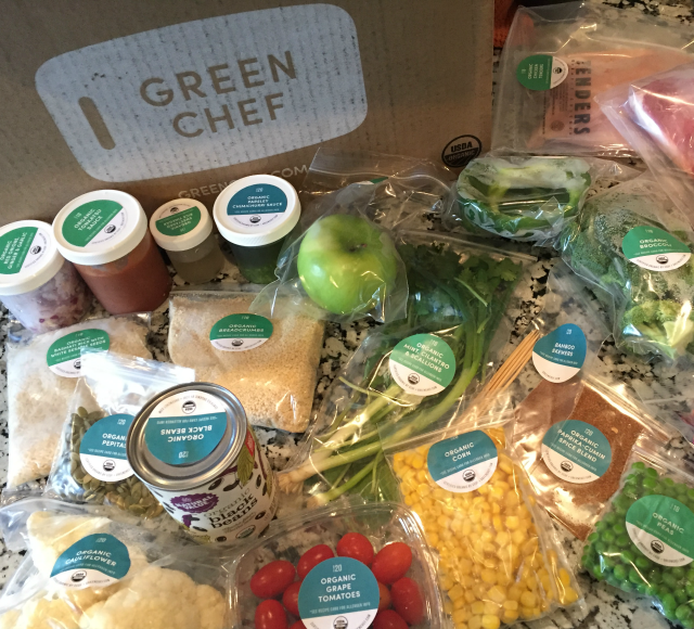 Green Chef Organic Meal Delivery Service Review