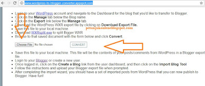Convert Wordpress to Blogger XML