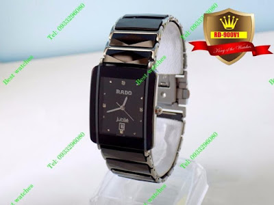 Đồng hồ nam dây inox trắng RD 900V1