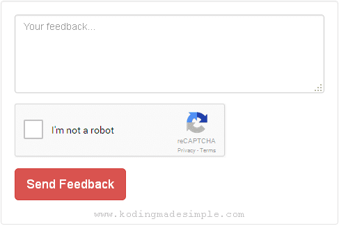 integrate recaptcha in codeigniter