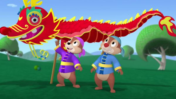 CHIP: We're the protectors of the Great Wall!