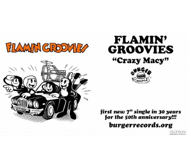 disco FLAMIN' GROOVIES - Crazy macy - single