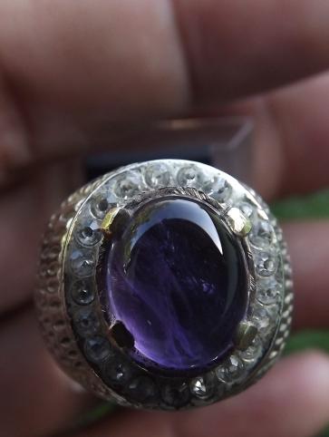 Soldout Amethsyt Ring Tembaga Chrome Rp 200 000
