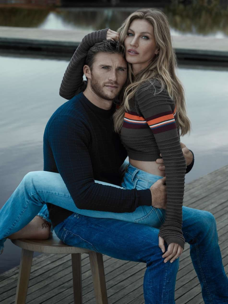 Gisele stars for the Colcci Fall/Winter 2016 Campaign