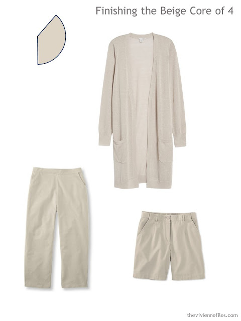 3 beige garments to add to a 4 by 4 Travel Wardrobe