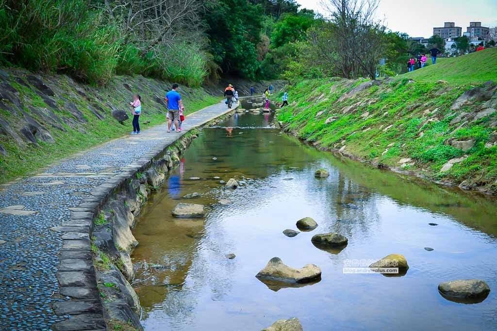 大溝溪親水公園,大溝溪生態防治園區,內湖草地野餐,內湖親子散步