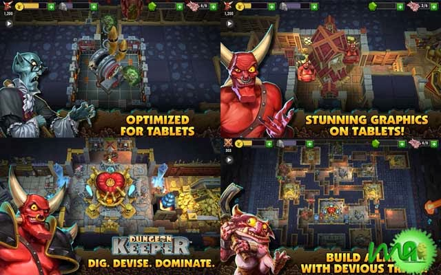dungeon keeper android apk