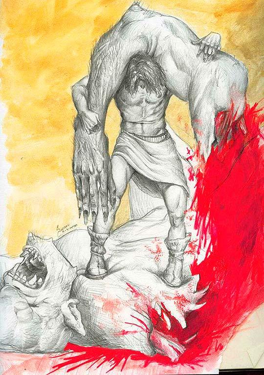 Ilustración de Carlos Arturo Rojas Pérez