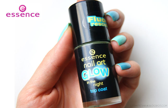 ESSENCE NAIL ART - GLOW IN THE NIGHT | TOP COAT ŚWIECĄCY W CIEMNOŚCI