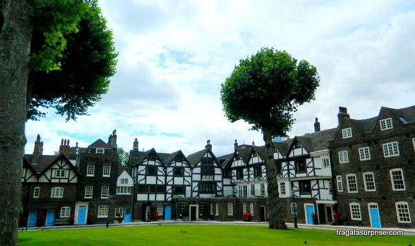 Pátio onde Ana Bolena foi decapitada na Torre de Londres