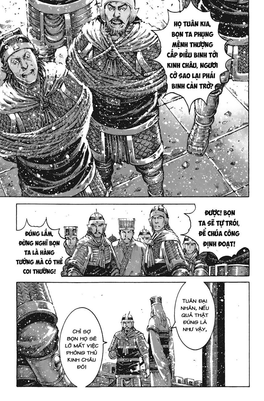 Hỏa phụng liêu nguyên Chương 435: Lâm nguy thụ mệnh [Remake] trang 5