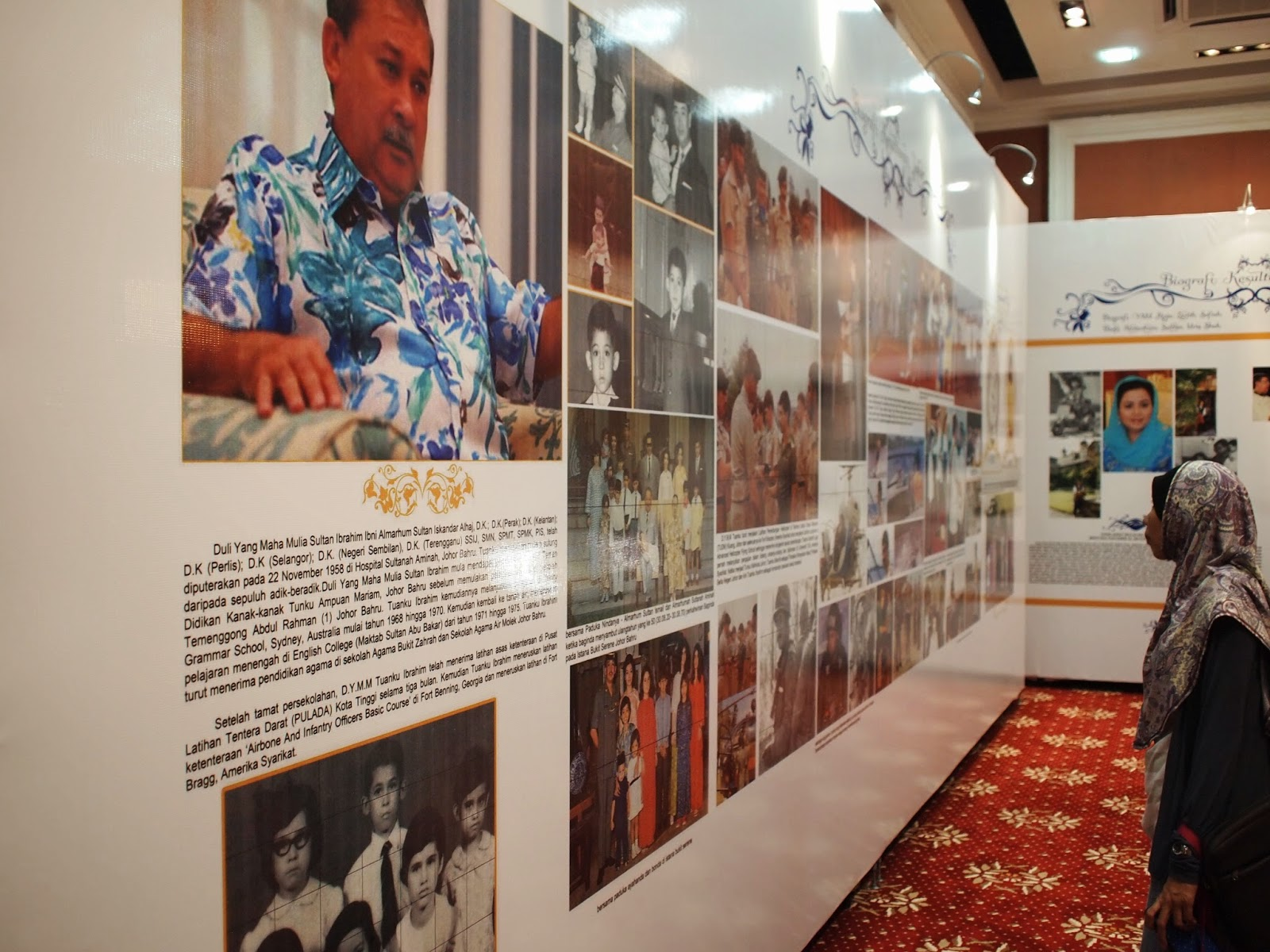 Muzium Tokoh - Kenali Kesultanan Johor
