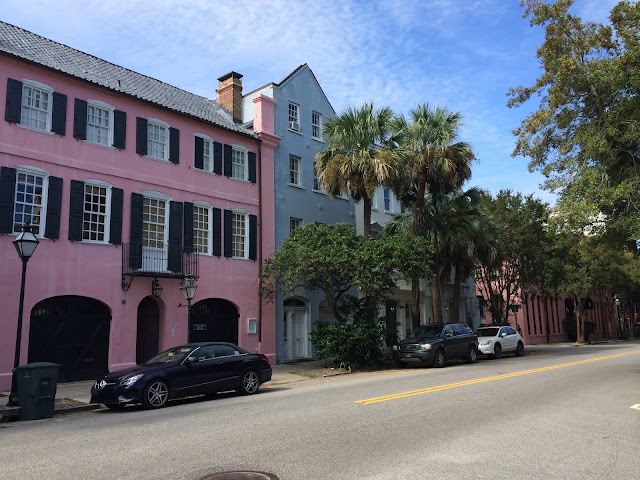 Charleston South Carolina - Rainbow Row