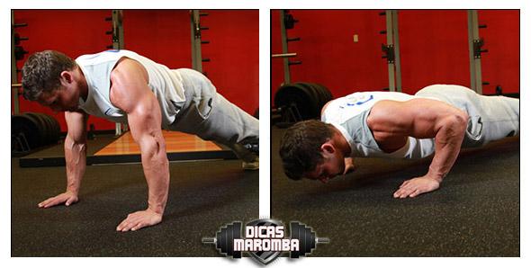 como fazer flexão execução