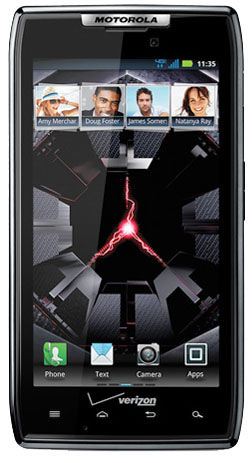 Motorola Droid RAZR receives Android 4.0 Ice Cream Sandwich, allows device to become first with Verizon's LTE global roaming