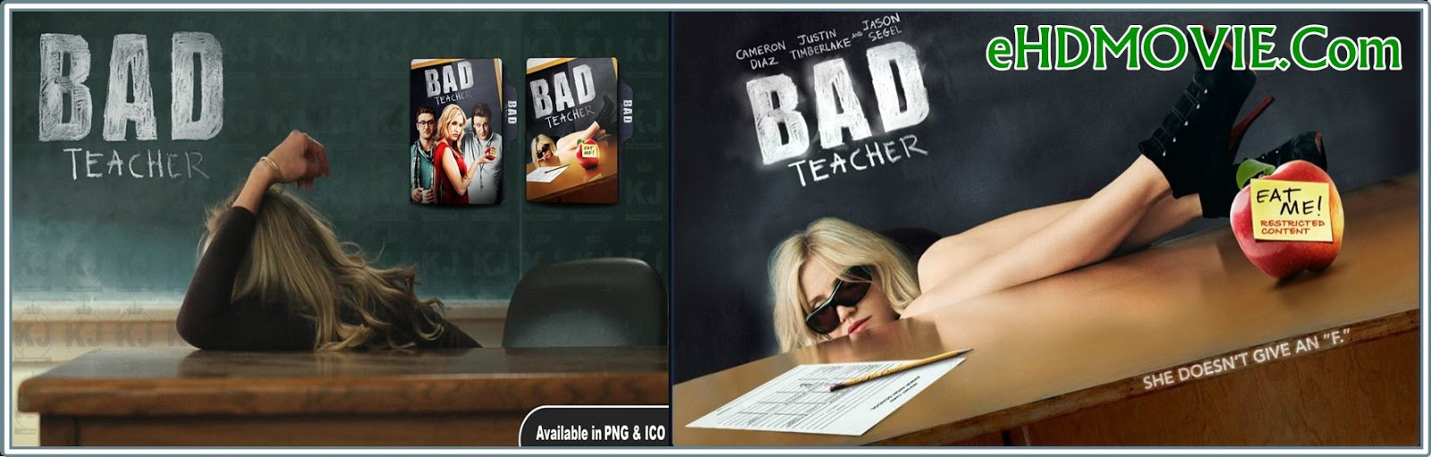 Bad Teacher 2011 Full Movie Dual Audio [Hindi – English] 720p - 480p ORG BRRip 450MB - 800MB ESubs Free Download