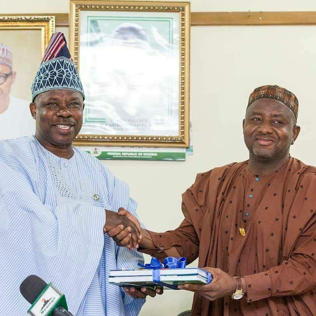 Amosun Presents Documents on Proposed Ogun Poly, Varsity to NBTE, NUC